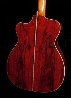Cocobolo beauty, custom lichty guitar