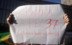 Manifestante protesta até contra música do cantor Latino em ato na Paulista 22-06-2013