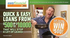 Quick & Easy Loans from $500 to $10,000. Share this offer for a chance to win $500 CASH!