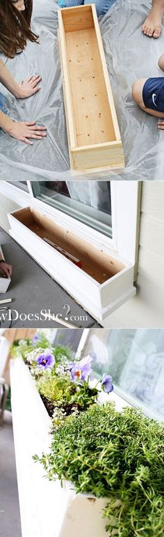 How to make a gorgeous window box