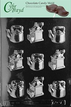 Cybrtrayd AO117 Coffee Pieces All Occasions Chocolate Candy Mold *** Check out the image by visiting the link.