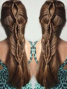 Long-haired women are fortunate that long hair is always trendy and there are so many options when it comes to styling. Different hairstyles can be made with long hair for different occasions and… Cool Braid Hairstyles, Pretty Hairstyles, Hairstyles Videos, Bob Hairstyle, Reign Hairstyles, Stylish Hairstyles, Ethnic Hairstyles, Hairstyles 2018, Afro Hairstyles