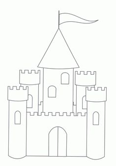 Princess Castle Coloring Page How To Draw A Princess Castle For Kids Castle Coloring Page How To Draw House For Princess Easy. Castle Coloring Page, Princess Coloring Pages, Coloring Pages To Print, Free Printable Coloring Pages, Coloring Pages For Kids, Coloring Sheets, Disney Coloring Pages Printables, Cinderella Coloring Pages, Kids Coloring