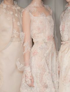 A Fine and Private Place: Pastel Dresses