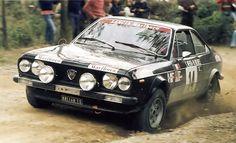 Shekhar Mehta/Martin Holmes San Remo Lancia Beta 1974