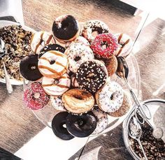 pile of donuts. yes.
