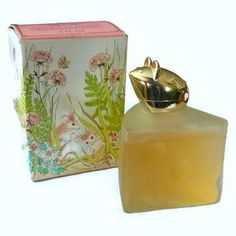 Vintage Avon Mouse Perfume Bottle 70s