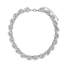 Nina Nanette Necklace | Silver Jewelry, Bejeweled, Late Night Glam, Jewelry, Necklaces, Jewelry | Nina Shoes