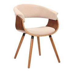 Check out the LumiSource CHR-JY-VMO-WL Vintage Mod Accent Chair priced at $150.00 at Homeclick.com.