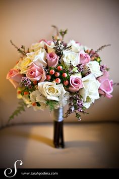 bouquet by Opalia Flowers in Brooklyn, NY; photo by Sarah Postma