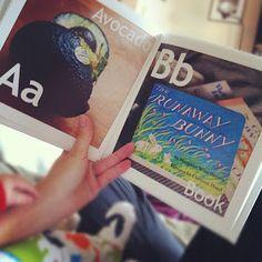 DIY baby alphabet book