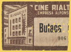 """El Acorazado Cinéfilo - Le Cuirassé Cinéphile: Cine """"Rialto"""" Alicante - Entradas y Programas de m..."""