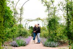 A Spring Engagement Shoot at Nymans Gardens, Sussex
