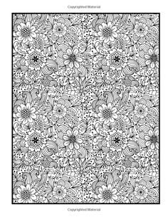 Flower Coloring Book Vol. 4: Penny Penny Farthing Graphics: 9781500437060: Amazon.com: Books Coloring Pages For Grown Ups, Adult Coloring Pages, Coloring Sheets, Printable Coloring Pages, Coloring Books, Doodle Coloring, Mandala Coloring, Penny Farthing, Flower Doodles