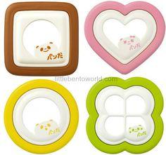 The Pocket Sandwich Cutter rangeis a two-part sandwich maker/cutter. Choose from four different designs.