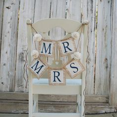 Hey, I found this really awesome Etsy listing at https://www.etsy.com/listing/156412780/burlap-and-lace-banners-mr-and-mrs-four