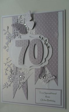 70th Birthday card by: niftynita                                                                                                                                                                                 More