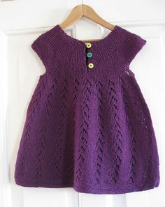 Beautiful little dress - never thought of purple for Avery - I bet it would be lovely!