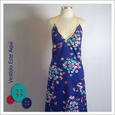 Vestido Frente Única (Florido) - Café Costura R$108