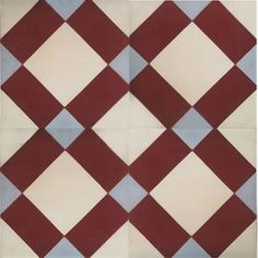 CDC » ENCAUSTIC CEMENT TILES IN STOCK Tile Ref. Ref. M062 (shows 4 tiles composition) Matt finish – no glazing applied. In stock colour pigment. Suitable for internal and external applications subject to suitable sealant & frost prevention treatment.