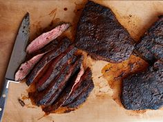 Chili and Coffee-Rubbed Steaks Recipe : Food Network - FoodNetwork.com - Easy, quick and Yummy - EC