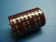 470uf  450V   NIPPON CHEMI-COM 105℃ KMH CAPACITORS KMH450VN221M35X30T2 3 pieces