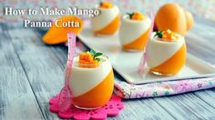 In this video, I'll show you step-by-step on how to make this gorgeous and delicious Mango Panna Cotta, a very popular Italian dessert that is perfect to bea...