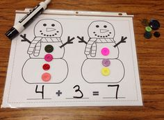 A Spoonful of Learning: Snowman Fun!!