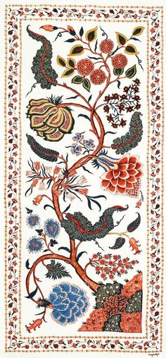 Renuka Reddy On Her Mission To Restore Handmade Chintz To Its Past Glory India Pattern, Pattern Art, Pattern Design, Print Patterns, Paisley Pattern, Textiles, Textile Prints, Textile Design, Textile Art