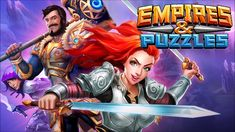 Empires and Puzzles Free Gems✅ Toned Abs Workout, Puzzles, Character Art, Empire, Places To Visit, Wonder Woman, Sink Faucets, Superhero, Games