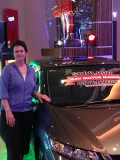 Lynn W. claiming her new car! We're giving away 31 Cars in 31 Days #Rocksino #Giveaway