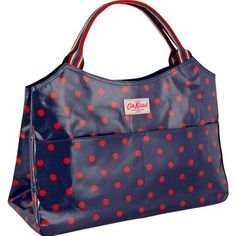 practical, navy, red, polka dots...thank you cath kidston for reading my mind.