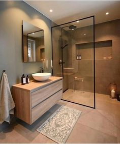 How to easily create the perfect bathroom with these key four design principles and ideas #bathroomdesigns