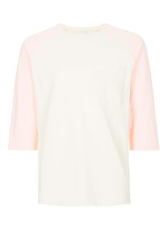 LTD Pink and White Baseball T-Shirt
