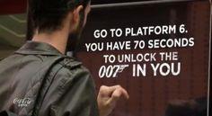 Tem 70 segundos para desbloquear o 007 que há em você! - AC Variedades