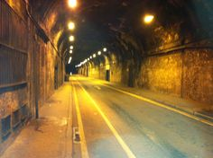 Stumbled on the tunnel from Fix You by Coldplay? Not quite, but nearly...