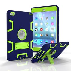 IPad Mini 4 Case, StrangeNose (TM) High Quality Scratch-Resistant [Three Layer] Convertible [Heavy Duty] Rugged Hybrid Protective and Shockproof Bumper with Kickstand * This is an Amazon Affiliate link. You can find out more details at the link of the image.