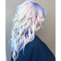 Holographic Hair Is Taking Over Instagram and You're Going to Want to... ❤ liked on Polyvore featuring accessories, hair accessories, hairstyle, asap and blue hair accessories