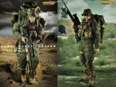 1/6 scale Marine Sniper