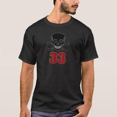 #33 Birthday Designs T-Shirt - #giftidea #gift #present #idea #number #33 #thirty-third #thirty #thirtythird #bday #birthday #33rdbirthday #party #anniversary #33rd