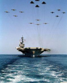 Navy Poster: Aircraft Carrier