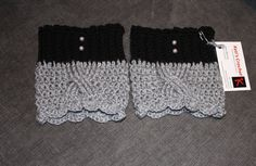 Crochet Boot Cuffs,Boot Toppers,Lace Boot Cuff,Boot Warmers,Leg Warmers,Boot Socks,Boot Warmer,Crochet Boot Topper, Boot Cuffs on Etsy, $22.23 CAD