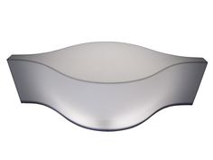 ARABESQUE SHAPED LIGHT-UP LUCITE TABLE  This light-up Lucite table with a unique Arabesque shape illuminates from within and is coffee or side table sized. Operated via a push button located on the cord.