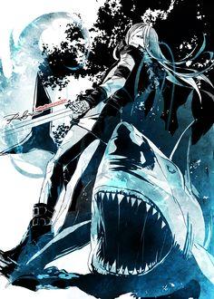 Setsushyo, Katekyo Hitman REBORN!, Superbi Squalo, Fish, Shark