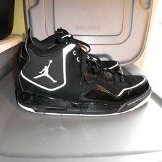 san francisco 22ec3 c05f9 Nike Shoes   Nike Jordan Courtside Black Whitesize 11.5   Color   Black White   Size  11.5