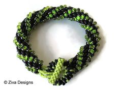 Beading instructions Bracelet rope tutorial by zivadesigns on Etsy