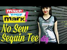 Be taught to make this NO SEW Sequin T-shirt very quickly with my new secret weapon. Everybody wants a bit of sparkle of their life and this tee is simply the ticket! BTW, the Shirt Transformation, Diy Fashion, Fashion Design, Fashion Trends, Sequin Shirt, Sequin Fabric, Diy Clothing, Children's Place, Knitting Patterns