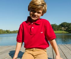 Southern Marsh Collection — Youth Stonewall Polo