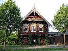 Like a fairy tale - Russian izba village Alexandrovka, Potsdam, Germany