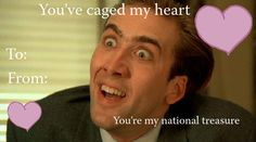 Be my national treasure.
